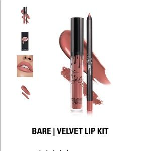 Kylie Jenner Lip Kit Velvet Liquid Bare